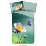 Bettwäsche Anemone 140/200cm Multicolor - Multicolor, Basics, Textil