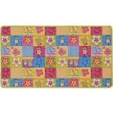 Kinderteppich Butterfly - Multicolor, KONVENTIONELL, Textil (133/180cm) - MÖBELIX