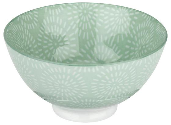 Miska Na Müsli Nina - mátově zelená, keramika (11cm) - Mömax modern living