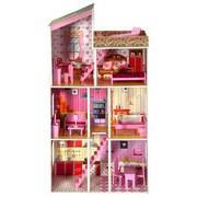 Puppenhaus Plum Tillington - Pink, MODERN, Holzwerkstoff (76/30/124cm)
