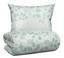 Povlečení Sandy -ext- - bílá/zelená, Moderní, textil (140/200cm) - Premium Living