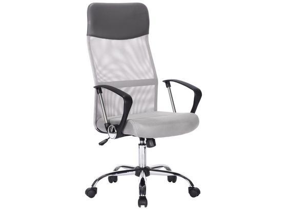Otočná Židle Pro Mladé Medea *cenový Trhák* - šedá/černá, Moderní, textil (64/111/119/50cm)