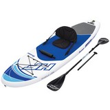 Stand-Up Paddle Board Hydro-force Oceana - Blau/Weiß, MODERN, Kunststoff/Metall (305/84/15cm) - Bestway
