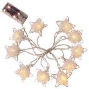 Lichterkette Robert - Nickelfarben, ROMANTIK / LANDHAUS, Metall (6/6/2,5cm) - James Wood