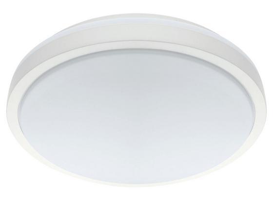 LED-Deckenleuchte Competa 1 - Weiß, MODERN, Kunststoff/Metall (24,5/5,5cm)