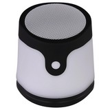 LED-Tischleuchte Gropina D: 9,8 cm Schwarz - Schwarz/Weiß, Basics, Kunststoff (9,8/10,7cm)