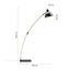 Stojací Lampa Nerea - černá/přírodní barvy, Moderní, kov/dřevo (90/22/150cm) - Modern Living