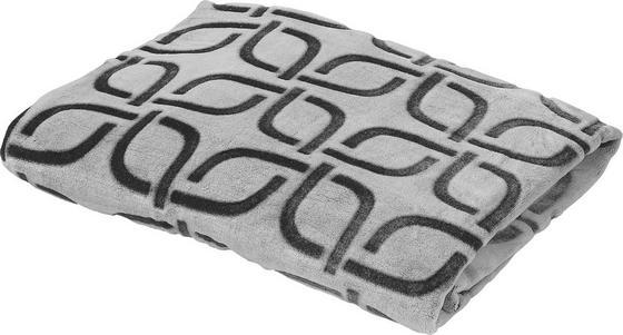 Kuscheldecke Divita 150x200 cm - Weiß/Grau, KONVENTIONELL, Textil (150/200cm) - Luca Bessoni
