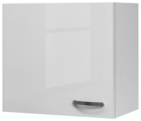 Kuchyňská Horní Skříňka Alba  H 60 - bílá, Moderní, kompozitní dřevo (60/54,8/32cm)