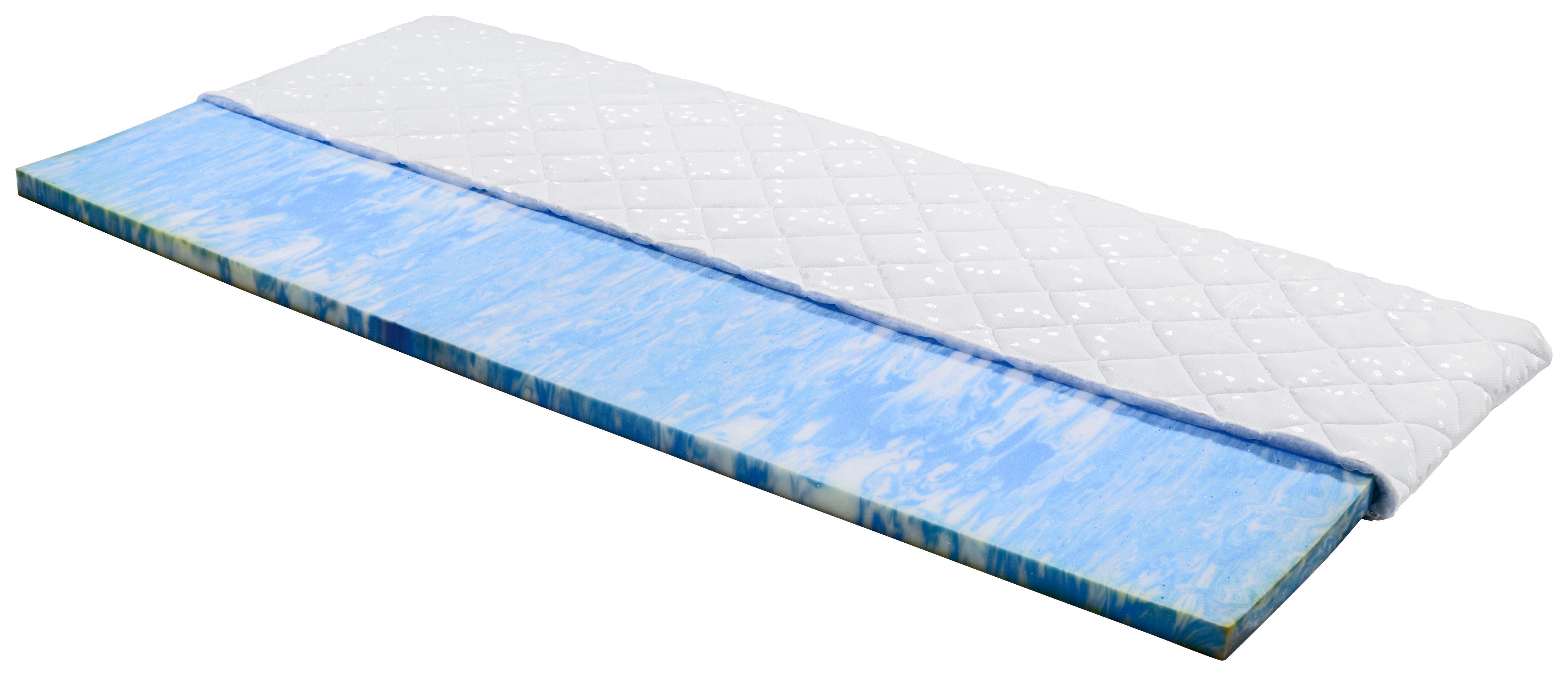 Vrchní Matrace Delta, 90x200cm - bílá, textil (90/200cm)