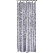 Kombivorhang Linda - Grau, KONVENTIONELL, Textil (140/255cm) - OMBRA