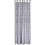 Kombivorhang Linda - Silberfarben, KONVENTIONELL, Textil (140/255cm) - OMBRA