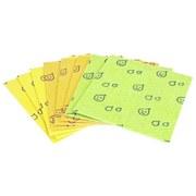 Schwammtuch Flaviana 8er Pack - Hellrosa/Gelb, KONVENTIONELL, Textil (18/20cm)