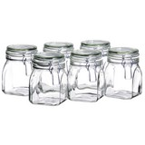 Einmachglas-Set ca. 750ml - Transparent, Basics, Glas (750ml)