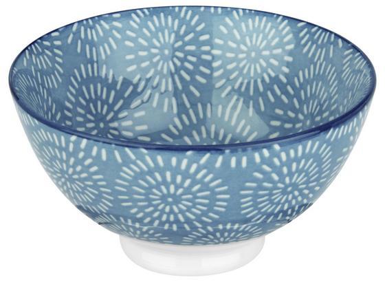 Miska Na Müsli Nina - modrá, keramika (11cm) - Mömax modern living