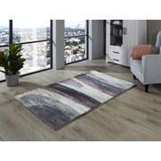 Webteppich Vanja - Grau, MODERN, Textil (120/170cm) - Luca Bessoni