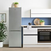 Kühl-Gefrier-Kombination K-K031G Silberfarben - Silberfarben, Basics (54/170/59,5cm) - Vestel