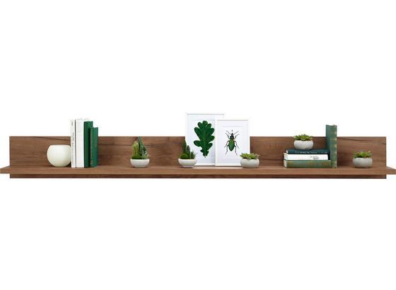 Police Nástěnná Avensis - barvy dubu, Moderní, kompozitní dřevo (180/20/20cm) - Luca Bessoni