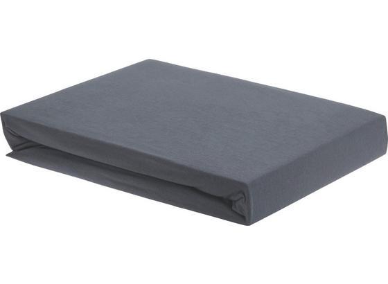 Napínacie Prestieradlo Elasthan Hoch -ext- - antracitová, textil (100/200cm) - Premium Living