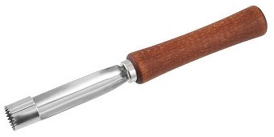 Apfelentkerner Woddy - Alufarben/Braun, KONVENTIONELL, Metall (16,5cm) - Homeware