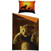 Bettwäsche Lion King 140/200cm Orange - Orange, LIFESTYLE, Textil - Disney
