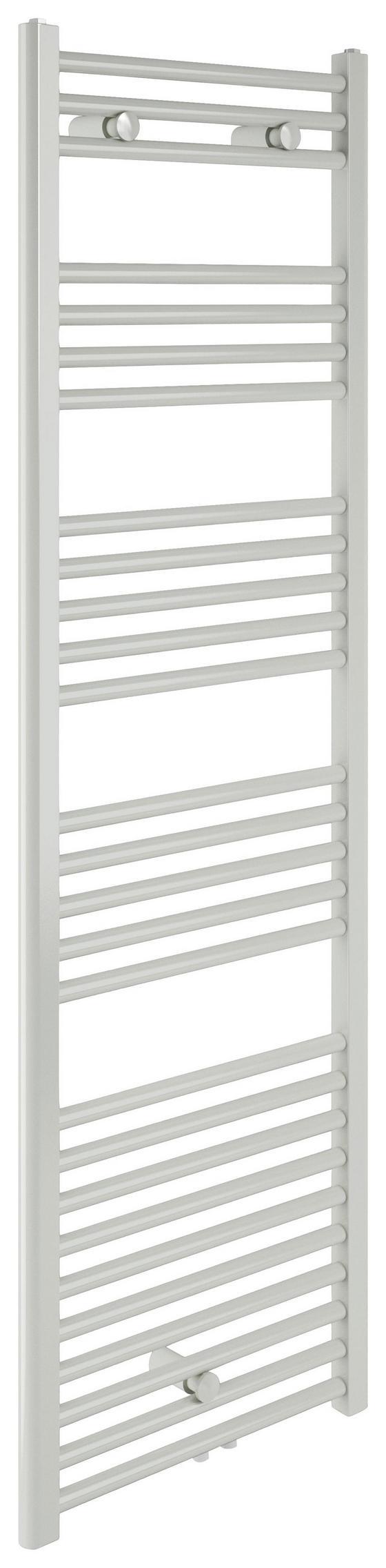 Badheizkörper Bari Gerade,600x1600mm - Weiß, Metall (60/160/12cm)