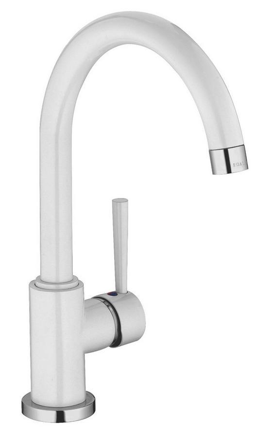 Spültischarmatur Cornwall - Weiß, LIFESTYLE, Kunststoff/Metall (21,5cm)