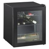 Severin Getränkekühler Ks 9889 Schwarz - Schwarz, KONVENTIONELL, Glas/Kunststoff (43/51/48cm) - SEVERIN