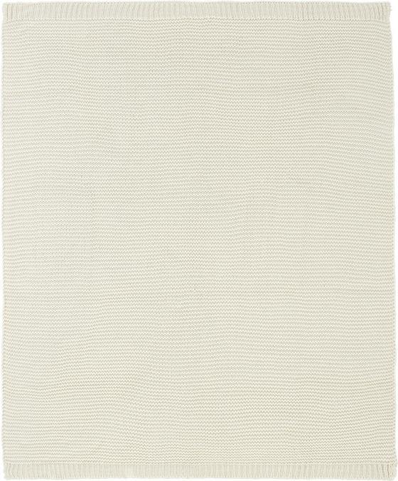 Deka Romance Strick - krémová, Romantický / Rustikální, textil (127/152cm) - Mömax modern living