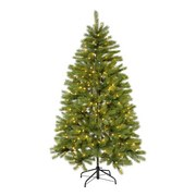 Weihnachtsbaum H: 150 cm Grün - Grün, Basics, Kunststoff/Metall (150cm) - X-Mas