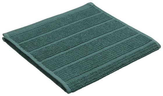 Ručník Pro Hosty Anna - tmavě zelená, textil (30/50cm) - Mömax modern living