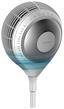 Turmventilator Power Fan 360 - Weiß, MODERN, Kunststoff (37/114,8cm)