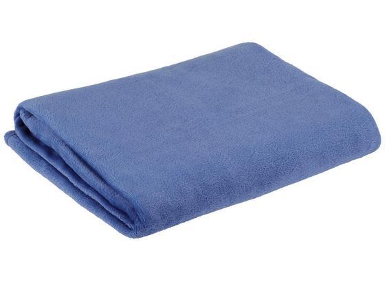 Kuscheldecke Marlies *pmb* - Blau, MODERN, Textil (150/200cm) - Luca Bessoni