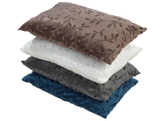 Zierkissen Petra 40x60 cm - Blau/Beige, KONVENTIONELL, Textil (40/60cm) - Ombra