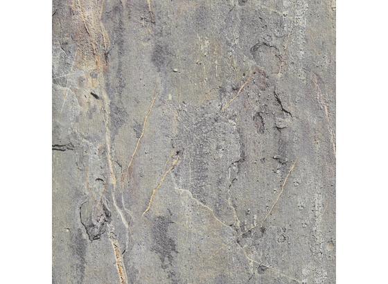 Klebefolie Steinmaueroptik - Grau, Kunststoff (45/150cm)