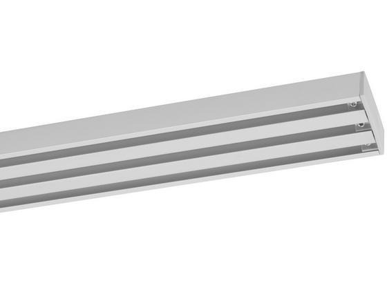 Záclonové Koľajničky Style - farby hliníka, kov (160cm) - Premium Living