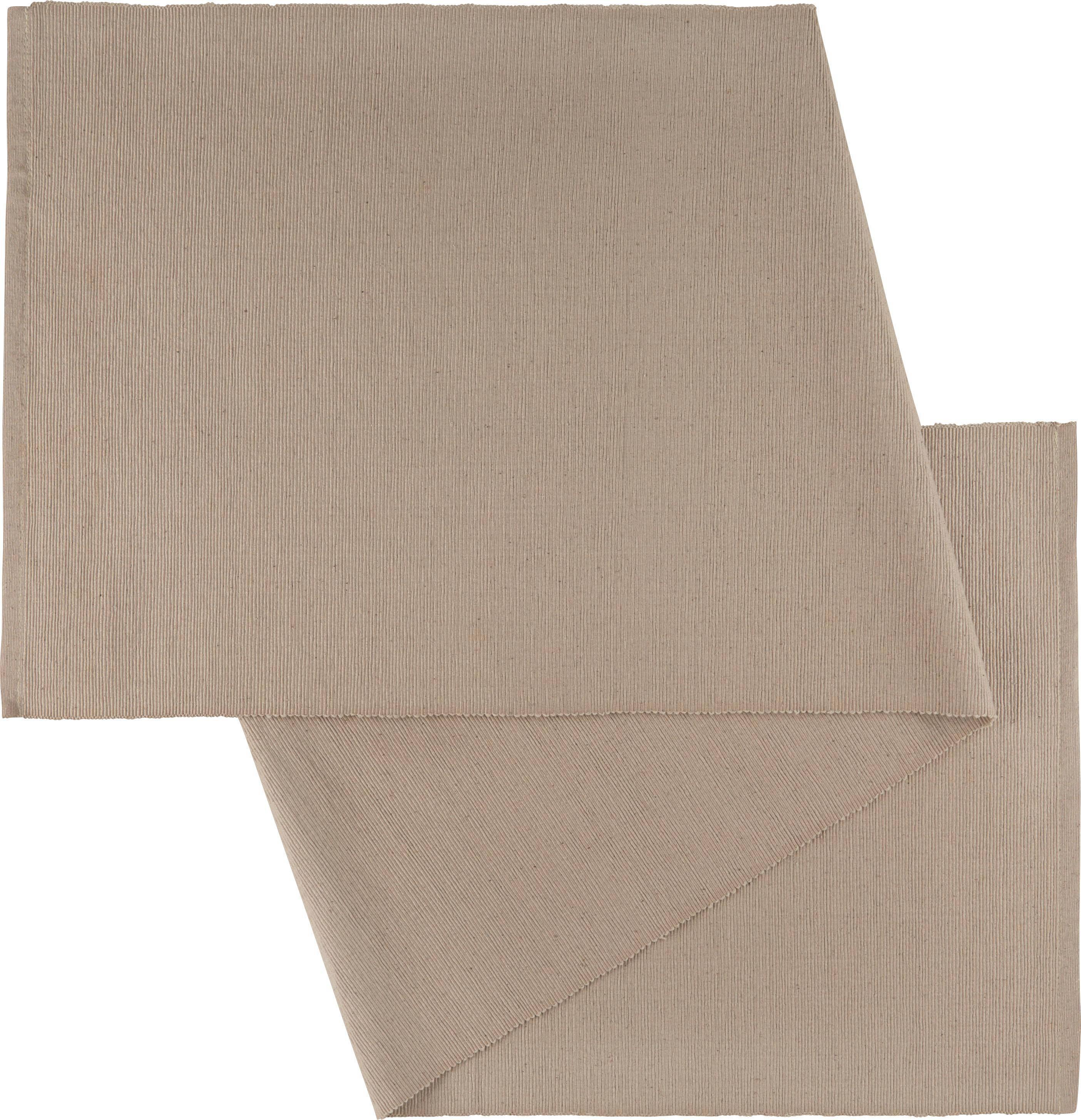 """Ubrus """"běhoun"""" Na Stůl Maren - šedá, textil (40X/150cm) - MÖMAX modern living"""