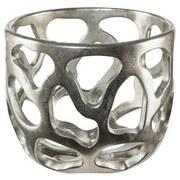 Dekoschale Ø 25 cm - Silberfarben, MODERN, Kunststoff (25/22cm)