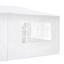 Pavillon Imperio - Weiß, MODERN, Kunststoff/Metall (600/247/300cm) - Ombra