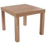 Couchtisch Holz mit Ablage Nora, Sonoma Eiche Dekor - Sonoma Eiche, MODERN, Holzwerkstoff (55/42/55cm)