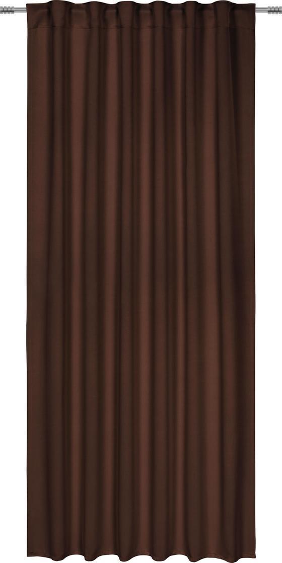 Zatemňovací Závěs Riccardo - hnědá, Moderní, textil (140/245cm) - Premium Living