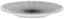 Servierplatte 21,5 cm - Goldfarben/Schwarz, KONVENTIONELL, Keramik (21,5cm)