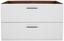 Skrinka Pod Umývadlo Avensis 303 - farby dubu/biela, Moderný, kompozitné drevo (90 53 45cm) - Luca Bessoni