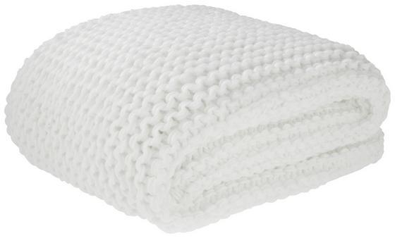 Deka Emily - bílá, Romantický / Rustikální, textilie (110/160cm) - Premium Living