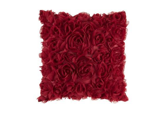 Polštář Ozdobný Rosalinde - bordeaux, Romantický / Rustikální, textil (40/40cm) - Mömax modern living