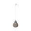Závesná Lampa Jade 30/147cm, 60 Watt - sivá, Romantický / Vidiecky, prírodné materiály (30/147cm) - Mömax modern living