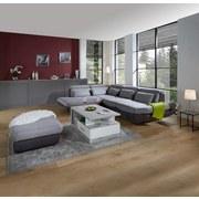 Sedací Souprava Park - světle šedá/antracitová, Moderní, textil (233/311cm) - LUCA BESSONI