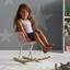 Detská Stolička Bobby - ružová, Moderný, kov/drevo (41,5/60/54cm) - Mömax modern living