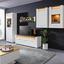 Tv Díl Leonardo - bílá/barvy dubu, Moderní, kompozitní dřevo (160/56/45cm) - Modern Living