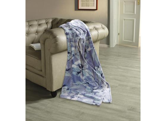 Kuscheldecke Orlanda - Grau, ROMANTIK / LANDHAUS, Textil (130/180cm) - James Wood